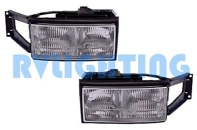 SPARTAN AMERICAN EAGLE RV Motorhome HEADLIGHTS HEAD LAMPS RV - SET