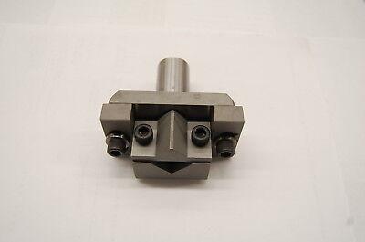 Brown Sharpe 1.0 Adjustable V-jaw Tool Holdercircular Tool Post