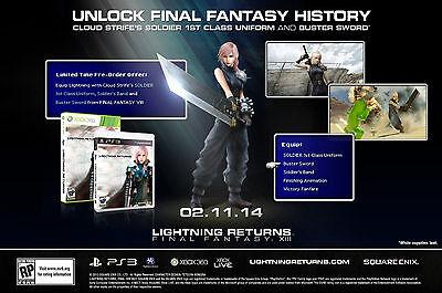 Lightning Returns Final Fantasy XIII (13) *PRE-ORDER EDITION* (XBOX 360)