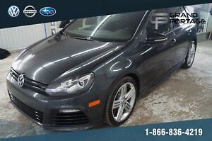 Volkswagen Golf R + AWD + TOIT OUVRANT + GPS + CUIR