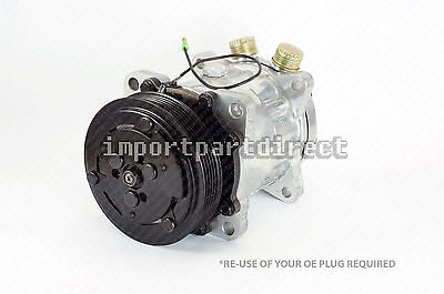Brand New A/C Compressor for Ferrari 348 355 1989-1997 w/ one year Warranty
