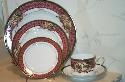 NEW Noritake ROYAL HUNT 4 - 5 Piece Place Settngs - 20 piece SET - NEW IN BOX