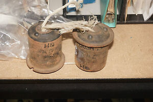 HOLDEN HQ HJ HX HZ WB LOWER CONTROL ARM BUSHES NOS PAIR