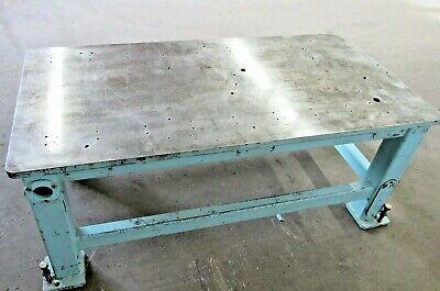 30 X 60 Steel Weldingwork Table Id W-026