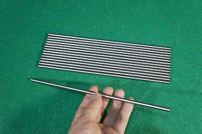 5.5mm Dia Titanium 6al-4v Round Bar .218 X 10 Ti Gr.5 Grade 5 Rod Stock 8pcs
