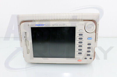 Ando Aq6331 Portable Optical Spectrum Analyzer Osa Calibrated