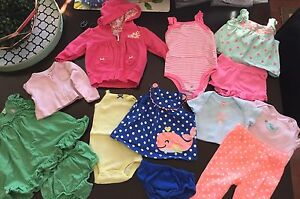 3 month baby girl summer lot