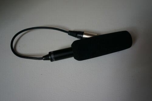 Sony ECM-XM1 Shotgun/On-Device Wired Microphone