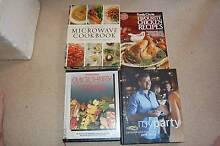 4 x various recipe books Meadowbrook Logan Area Preview