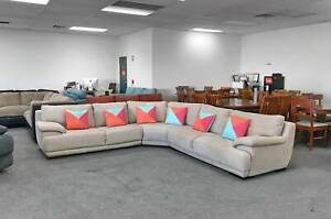 TODAY DELIVERY BEAUTIFUL COMFORTABLE CREAM L SHAPE Sofa lounge