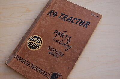 Caterpillar R4 Tractor Crawler Dozer Parts Manual Book Catalog Vintage 6g Cat