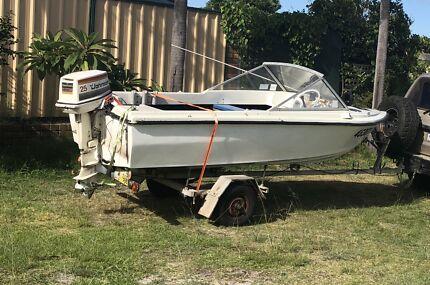 14ft boat swap