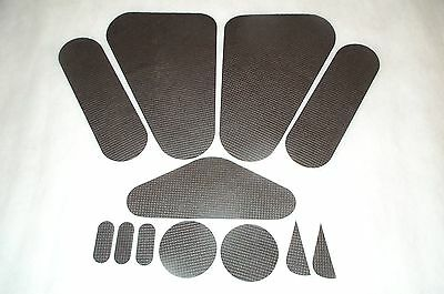 1963 CHEVY IMPALA HARDTOP & CONVERTIBLE TRUNK LID INSULATION 12 pc set 63