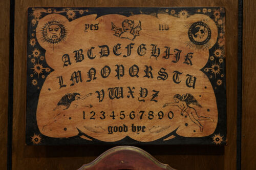 ~ Angels Witch Wooden Ouija Board - Witchboard Paranormal ~ Haunted Weird Energy