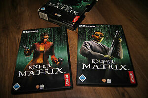 pc game cd-rom enter the matrix atari 2003 deutch language version - wielkopolska, Polska - pc game cd-rom enter the matrix atari 2003 deutch language version - wielkopolska, Polska