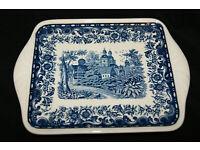 Villeroy /& Boch Porzellan Blue Castle Butterplatte