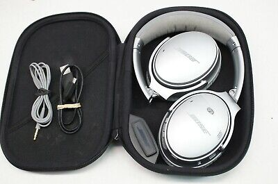 Bose QC-35 QuietComfort 35 Wireless Bluetooth Headband Headphones - Silver