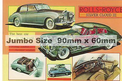 Rolls Royce Silver Cloud 111  Fridge Magnet     90 mm  x  60 mm