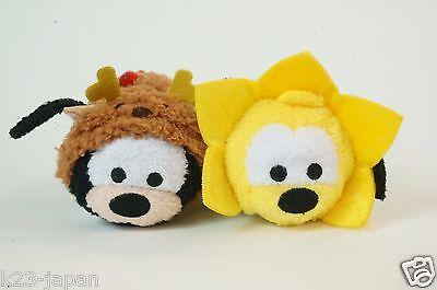 Disney Store JAPAN TSUM TSUM 2016 Christmas Advent Calendar Goofy & Pluto