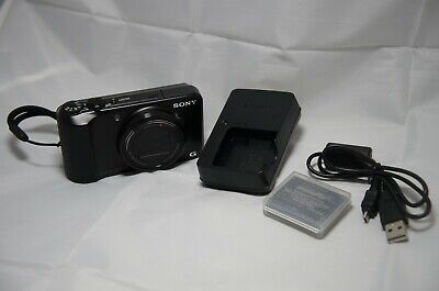 Sony Cyber-shot DSC-H90 16.1MP Compact Zoom Digital Camera Tested Bad Flash