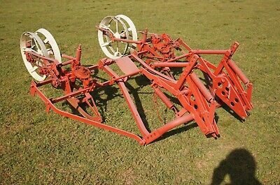 Ih Mounted 2 Row Planter Farmall Tractor H M Md Super 300 400 Hm-220 221 222