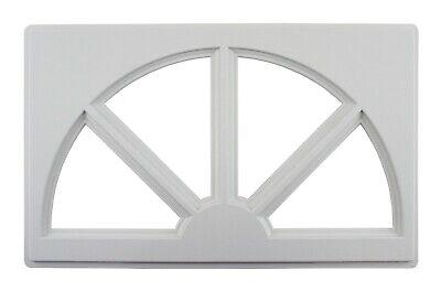 Garage Door Inserts Sunburst Design INSTERT ONLY - NOT COMPLETE WINDOW