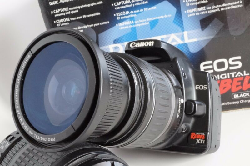 Ultra Wide Angle Macro Fisheye Lens for Canon Eos Digital Rebel 67 72 58mm new