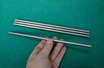 8mm Dia Titanium 6al-4v Round Bar .314 X 10 Ti Grade 5 Rod Metal Alloy 4pcs