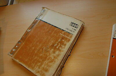Case 1840 Mini Skid Steer Uni Loader Parts Manual Book Catalog Spare List