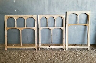 RECLAIMED STRIPPED PINE SASH WINDOW 3 AVAIL FOR GLAZING OR CHALK BOARD Ref M1262