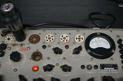 Military Hickok Tv-7 Au Tube Tester