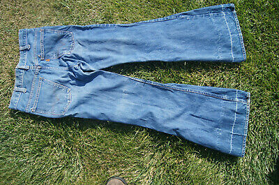 Levis vintage yellow tag bell bottom jeans 28x 29