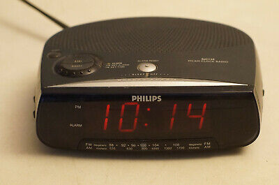 Philips FM AM Clock Radio Model AJ3120/17
