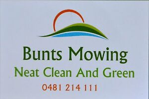 BUNTS MOWING Coramba Coffs Harbour Area Preview