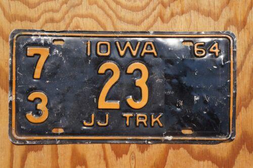 1964 Iowa TRUCK License Plate # 23