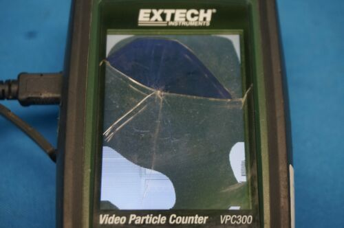 Extech VPC300 Video Particle Counter As Is