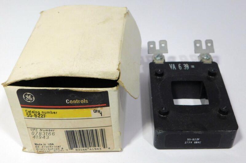 GE Controls General Electric Coil 55-B22F 277V 60 Hz NOS NIB