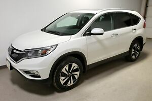 2015 Honda CR-V Touring|Certified|Rmt Start|Htd Lthr|Navi|Loaded