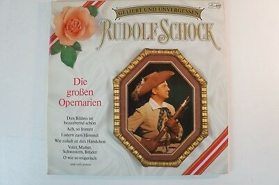 Rudolf Schock Geliebt und unvergessen Opernarien 2LP Gat Marcato 143115 LP35