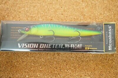 MEGABASS ITO VISION ONE TEN 110 PLUS 1 DEEP DIVER——-SEETHROUGH GLITTER AYU