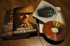 world war II pc game frontline command cd-rom 2003 koch media - wielkopolska, Polska - world war II pc game frontline command cd-rom 2003 koch media - wielkopolska, Polska