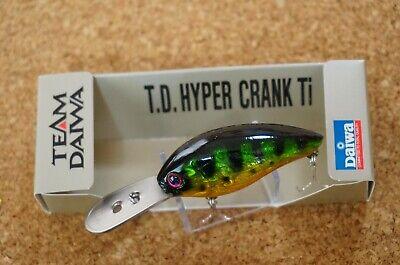 mat black//gold HYPER CRANK 1066 TiF 9321 fishing lure DAIWA T.D