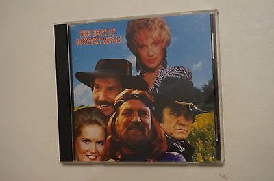 Best of Country Music [Sony Special Products] by Various Artists (CD, Sony