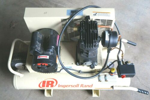 Ingersoll Rand 3HP 220-240V 11CFM Portable 8 Gallon Electric Air Compressor