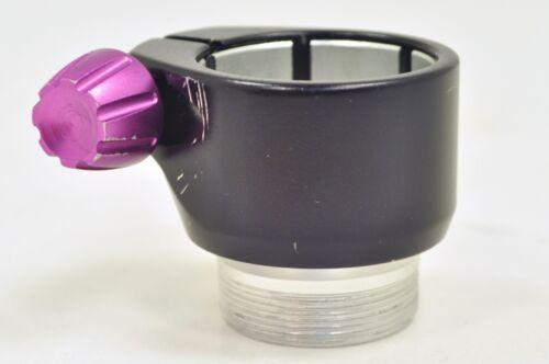 Dye DM Style Locking Feedneck For Dye Proto DM PM Markers Black Silver Purple