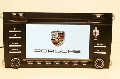 09 10 Porsche CAYENNE OEM NAVIGATION PCM-3.0 GPS SIM Radio CD Player 7L5919193A