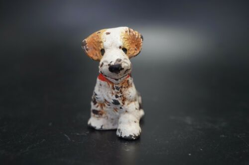 VTG Hubley Cast Iron SEALYHAM TERRIER Puppy Dog Card Holder