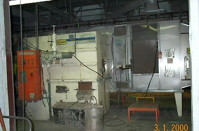 Wagner Reclaim Powder System Coating Double Doors