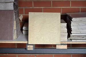 Grainy Egg Shell colored floor Tiles Sunshine Brimbank Area Preview