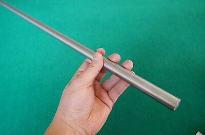 17mm Dia Titanium 6al-4v Round Bar .669 X 40 Ti Rod Grade 5 Metal Alloy 1pc